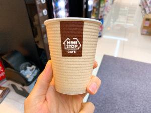 ミニストップのコーヒーカップ