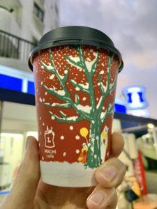 ローソンのカフェインレスカフェラテ