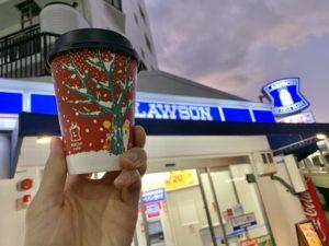 ローソンのカフェラテ