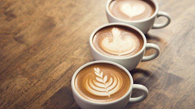 コーヒー三種類
