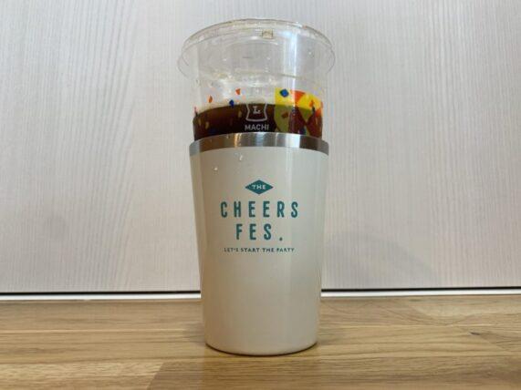 チアーズフェスとローソンのメガサイズコーヒー