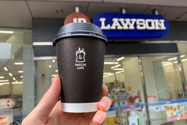 ローソンマチカフェのホットコーヒー